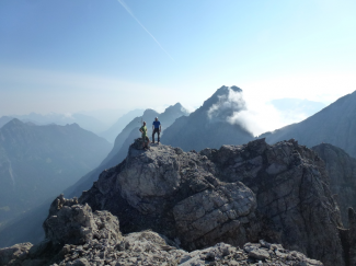 Gliegerkarspitze Westgipfel/Hauptgipfel 2575m