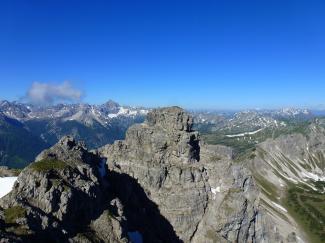 Krottenköpfe (Luchsköpfe) 2180m