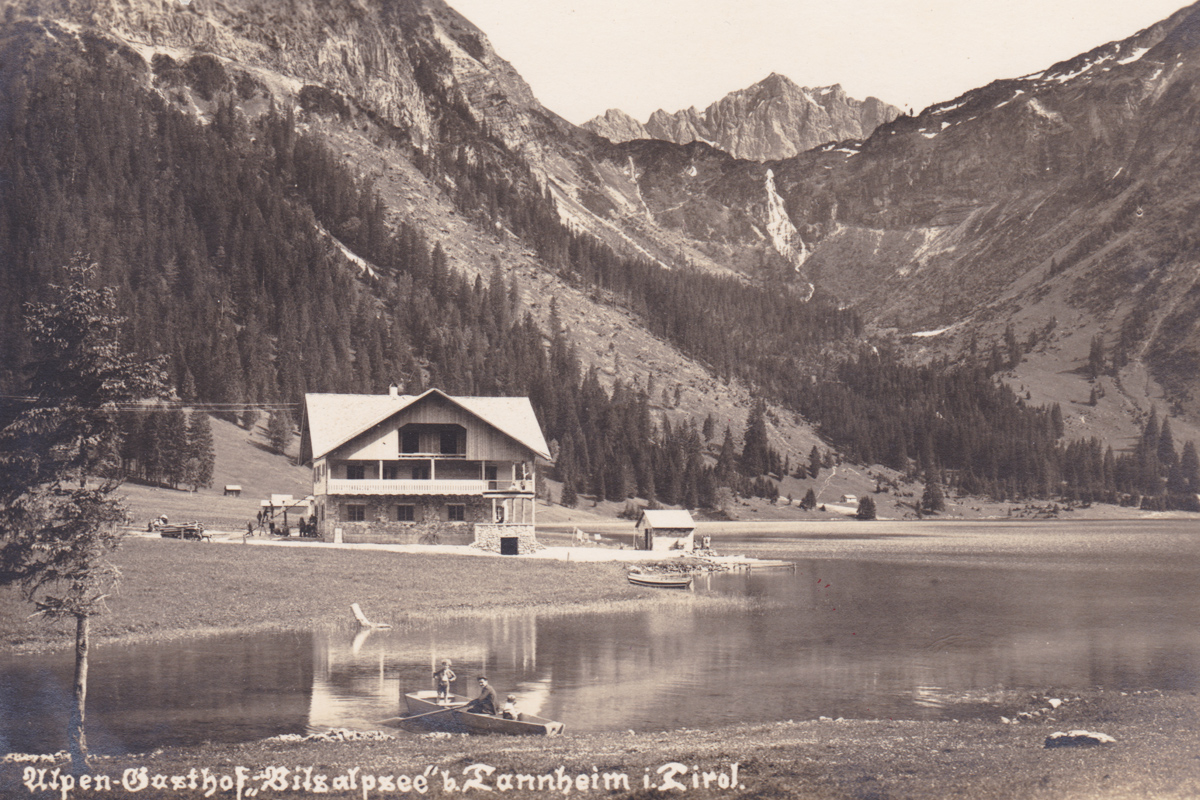 alpen-gasthof vilsalpsee lachenspitze tannheim