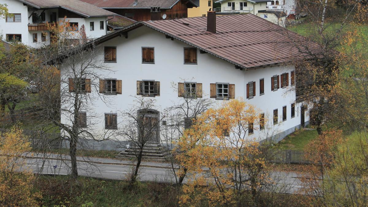 das Geburtshaus der Anna Dengel in Steeg / Dickenau