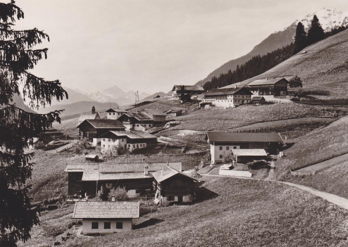 bei Brand (Berwang) - Foto Fredy - vmtl. 50er Jahre (nicht gelaufen)