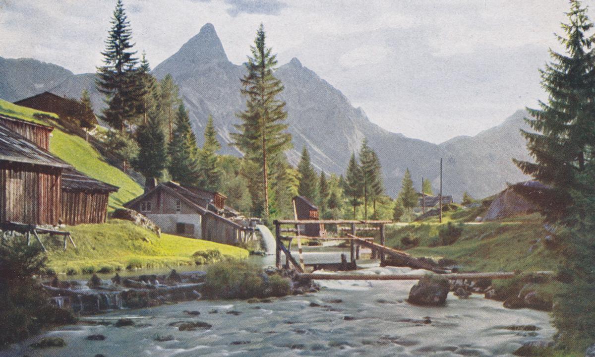 ehrwald mühle loisach sonnenspitze