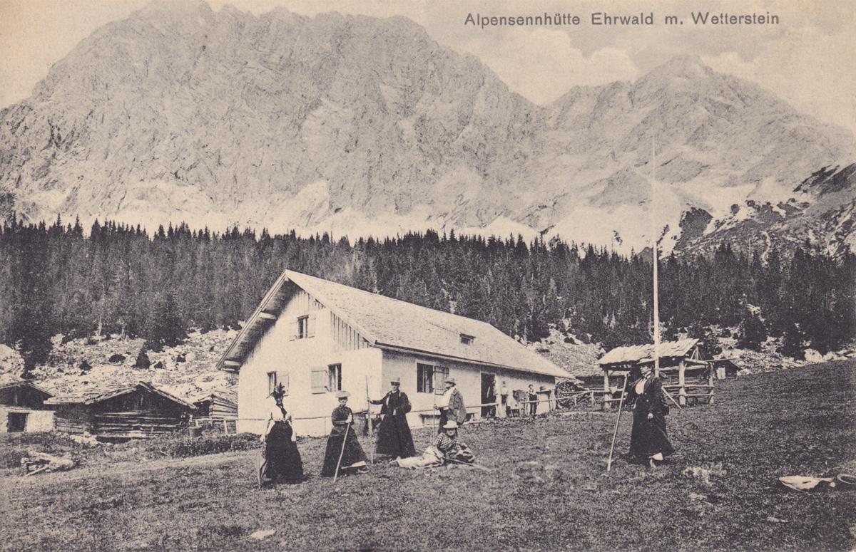ehrwalder alm wetterstein alpensennhütte
