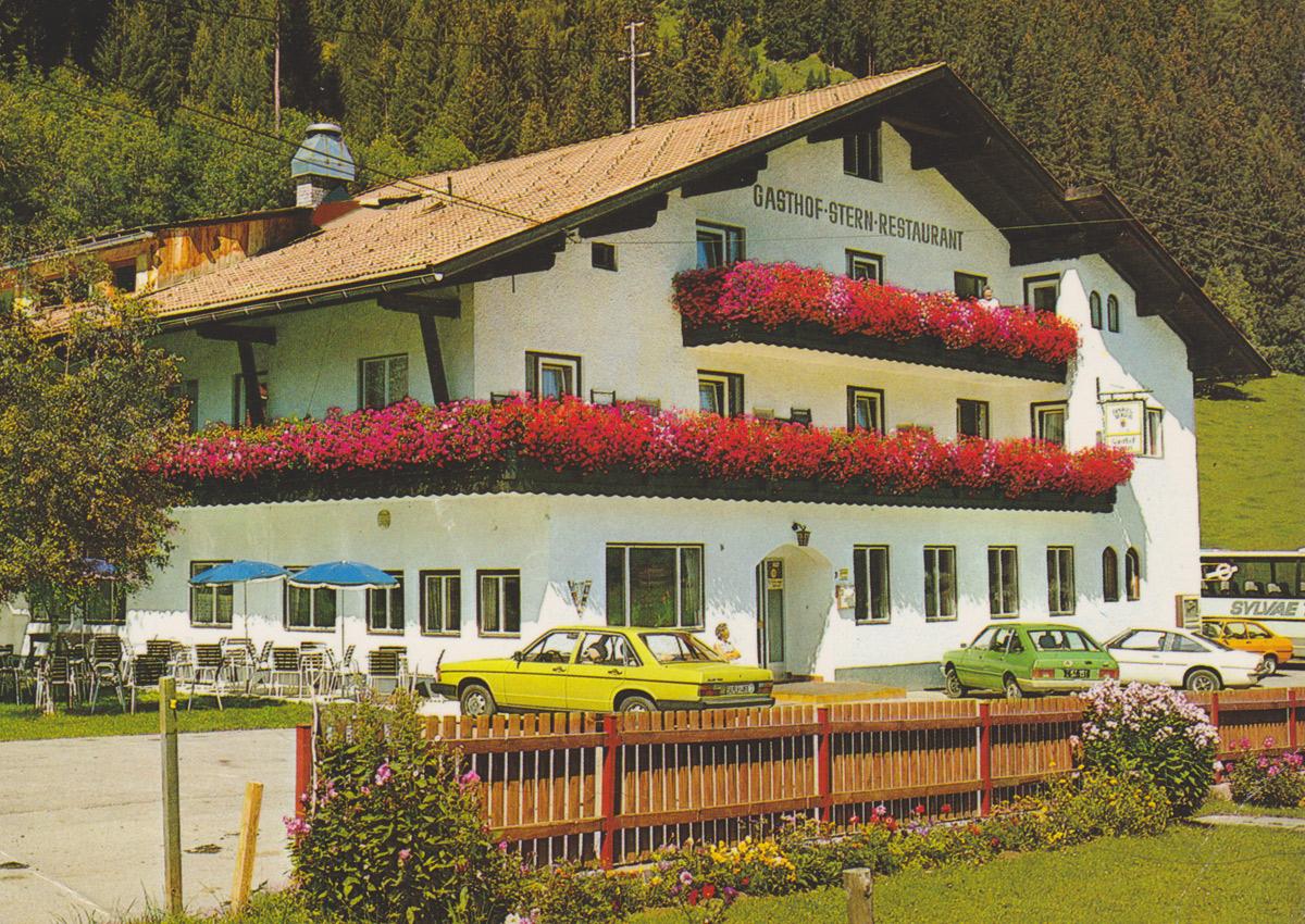 der Gasthof Stern in Elbigenalp im Jahr 1985 - Franz Milz Verlag