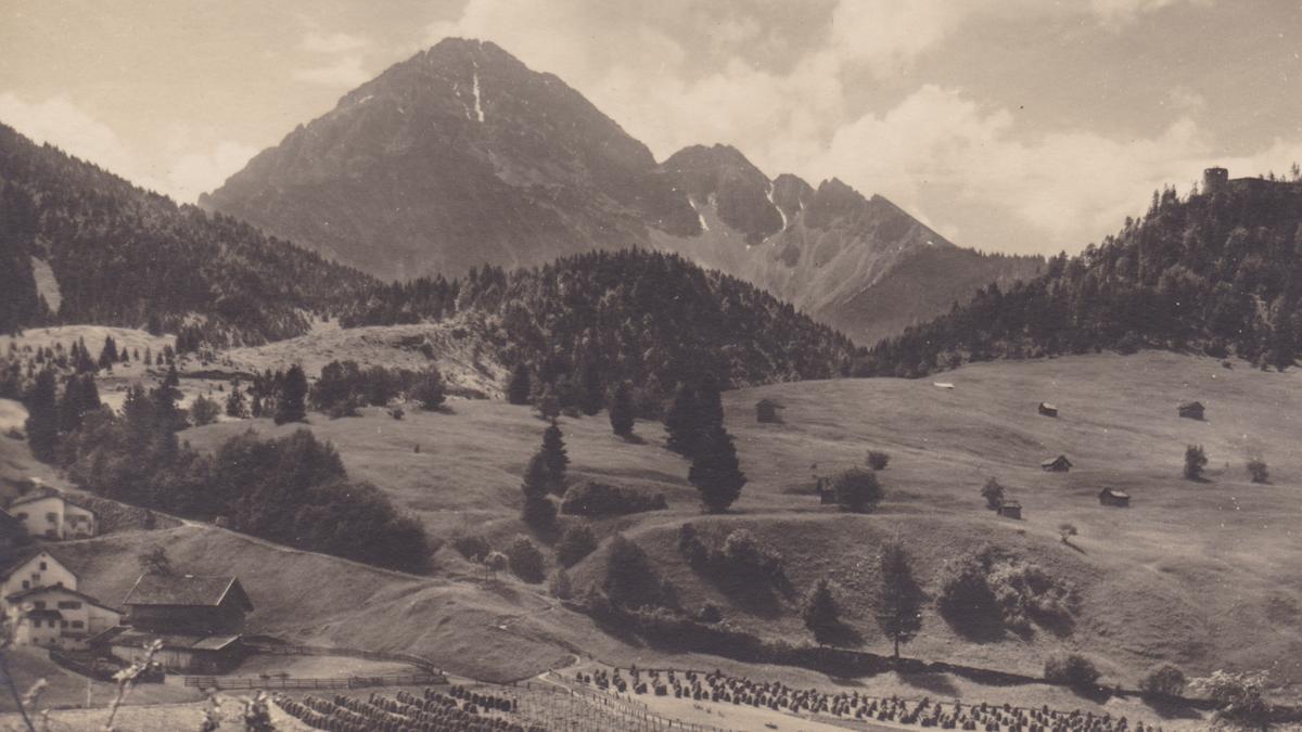 am Katzenberg - Katzenmühle und Ehrenberg - Tiroler Kunstverlag (nicht gelaufen)