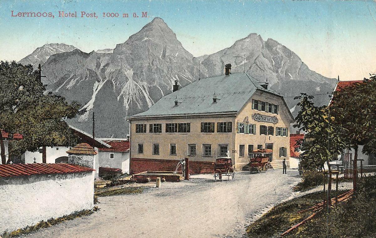 bei den Postämtern Biberwier, Ehrwald und Lermoos werden Telefonverbindungen nach Garmisch-Partenkirchen, Mittenwald und andere grenznahe Orte aufgebaut und ab dem 1. November 1902 in Betrieb genommen