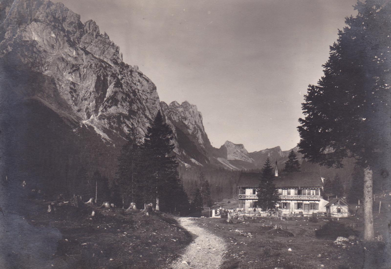 die Musauer Alm im September 1926 - Foto: privat