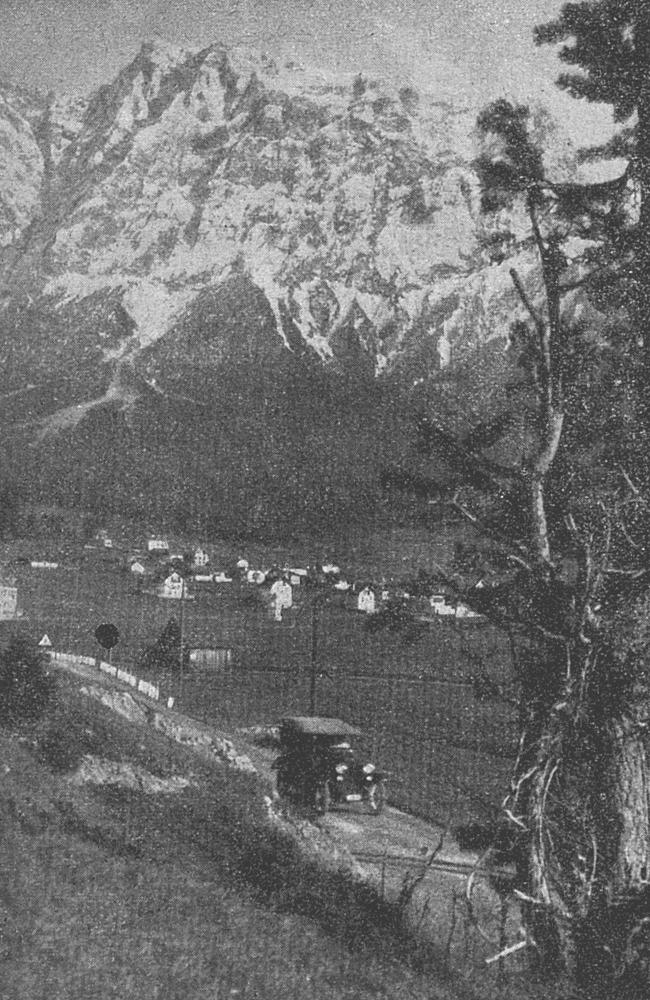 straße ehrwald