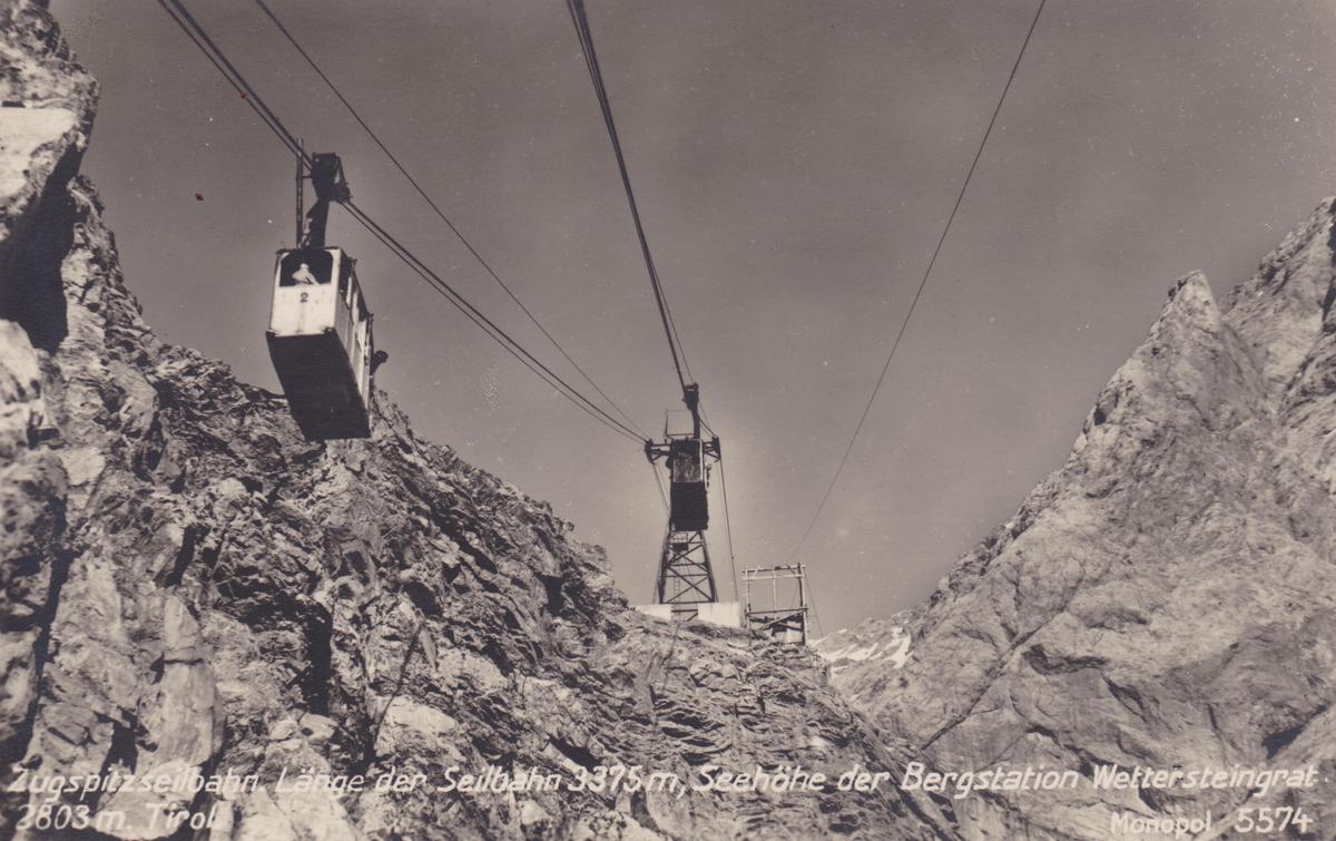 zugspitzseilbahn zugspitze bergstation wettersteingrat