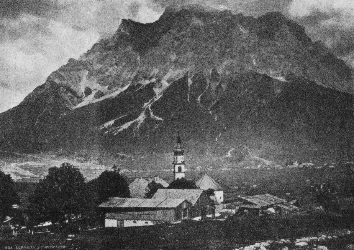 Lermoos gegen Wetterstein - aus: Der Fremdenverkehr (1913)