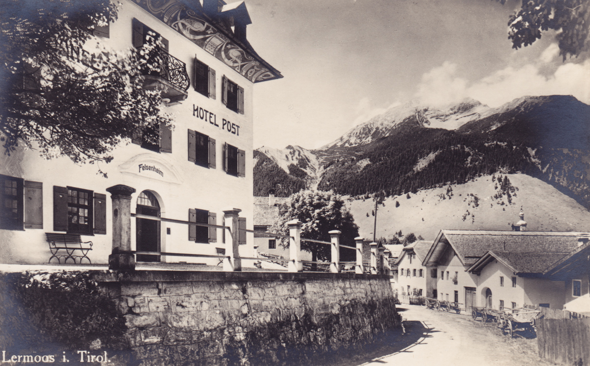 Villa Felsenheim - Dependance Hotel Post - Foto: Gebr. Metz - Karte nicht gelaufen