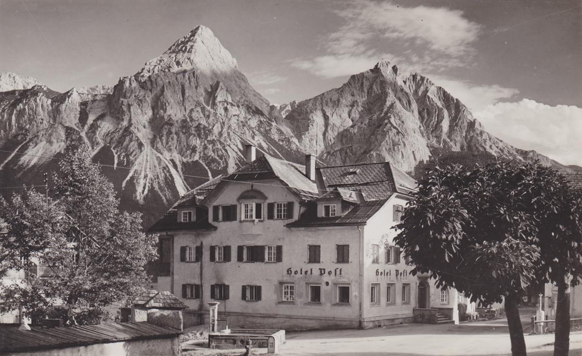 Hotel Post - Verlag Paul Waitz - nicht gelaufen (etwa 1940)