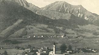 Blick auf Ehrwald und Lermoos