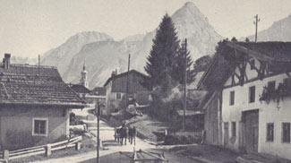 Dorfmotiv aus Lermoos