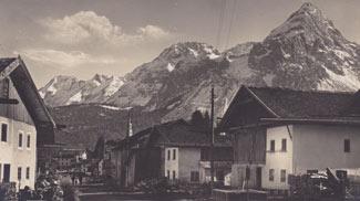 Dorfstraße in Lermoos