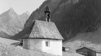 Madautal Madau Kapelle Bauernhaus Parseiertal Seekogel Seekopf