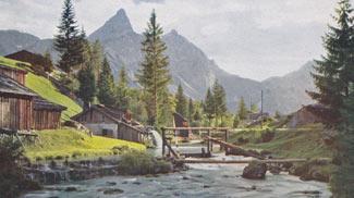 Mühle an der Loisach