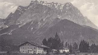 Partie Ehrwald m. Wetterstein