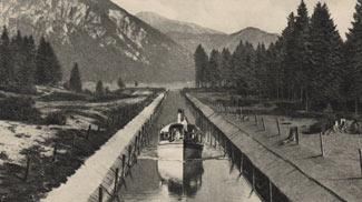 plansee kanal heiterwangersee motorboot verbindungskanal