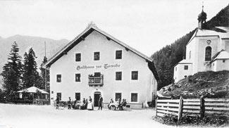 Gasthaus zur Traube in Bichlbach