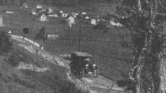 Straße von Ehrwald nach Lermoos