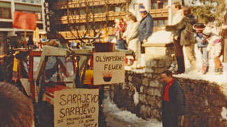 Faschingsumzug 1984 Tannheim