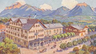 Gasthof und Brauerei zum Hirsch