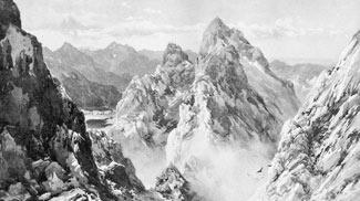 Hochgimpelspitze und Rothe Flüh