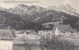 Grän mit Tannheimer Bergen