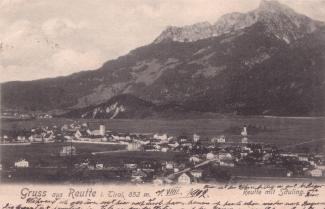 Reutte um 1902