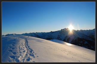 """2009/01 """"Spuren im Schnee"""" (Platz 3)"""