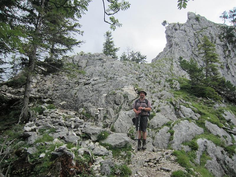 Klettersteig Oberammergau : Oberammergauer kofel alpic
