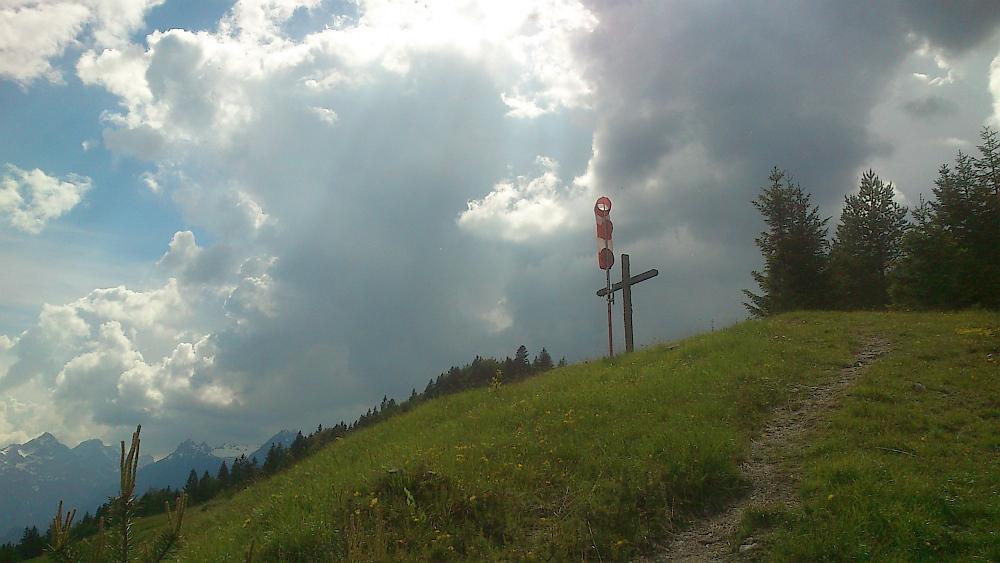 """Gipfelkreuz"" am Moosberg"