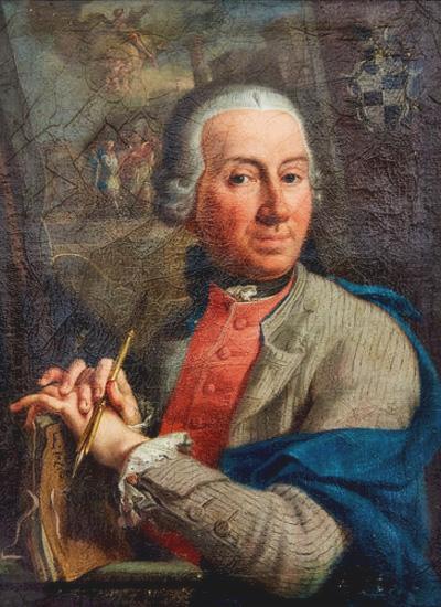 Franz Anton Zeiller - Selbstportrait
