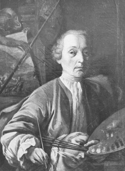 Johann Jakob Zeiller - Selbstportrait